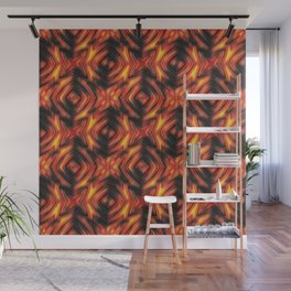 Fire, fire pattern Wall Mural