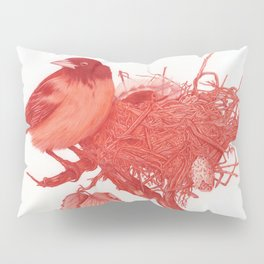 Nested Oriole Pillow Sham