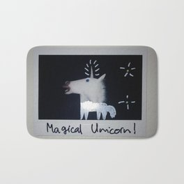 Magical Unicorn! Bath Mat