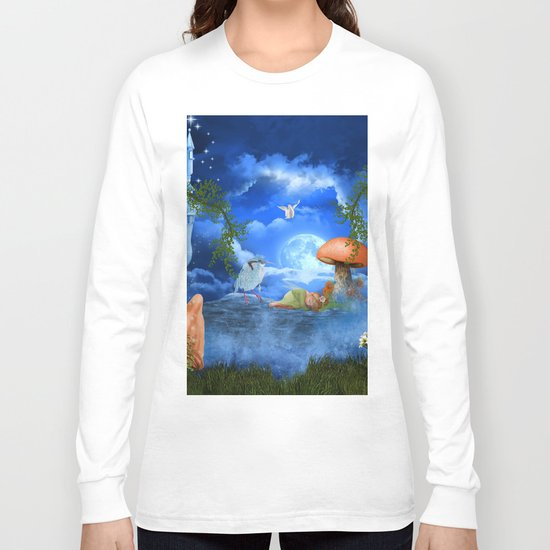 Cute little fairy Long Sleeve T-shirt