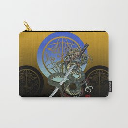 Dragon katana Uesugi Carry-All Pouch