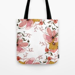 Words that water flowers Tote Bag