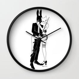 love your mistress Wall Clock