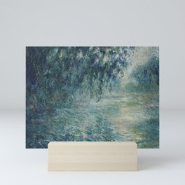 Morning on the Seine, Claude Monet Mini Art Print
