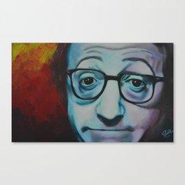 Woody Allen Canvas Print