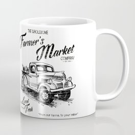 Farmer's Market Coffee Mug