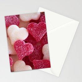 Gummy Hearts 2 Stationery Cards