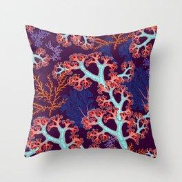 coral dream Throw Pillow