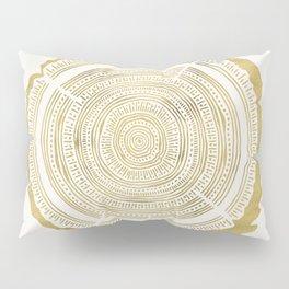 Douglas Fir – Gold Tree Rings Pillow Sham