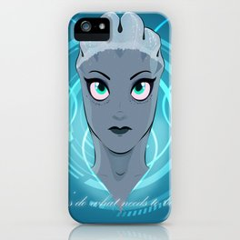 Liara T'soni - The Queen Bee of Bioware (Revised) iPhone Case