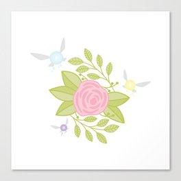 Garden of Fairies Canvas Print