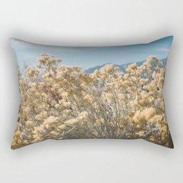 California Yellow Flowers Rectangular Pillow