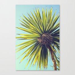 Tropical Shade Canvas Print
