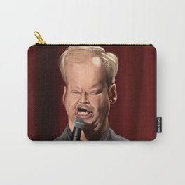 Jim Gaffigan Caricature Carry-All Pouch