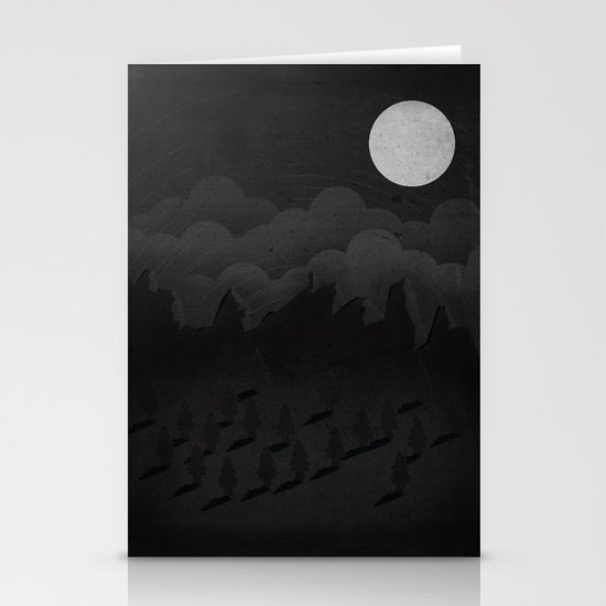 A night in the woods Stationery Cards