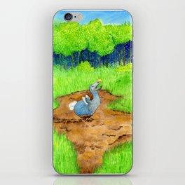The Dodo Sinks iPhone Skin