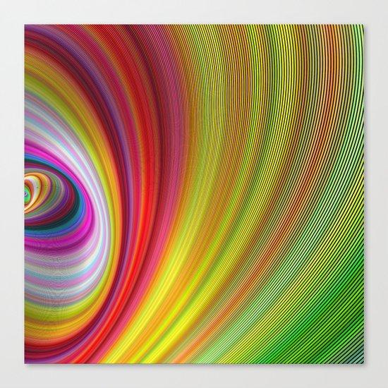 Vivid space Canvas Print