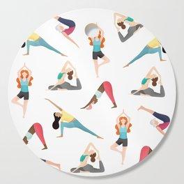 Yoga Pattern Cutting Board