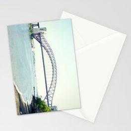 Hellsgate Bridge in New York City, Astoria  Stationery Cards