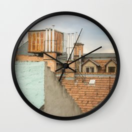 Roof Budapest Wall Clock