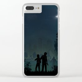 The Last of Us | Warriors Landscapes Serries Clear iPhone Case