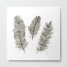 Birds of a feather.... Metal Print