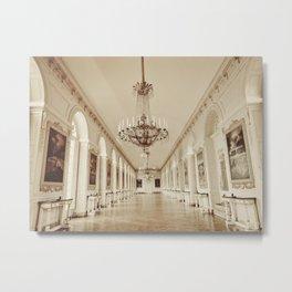 Dreaming of Grand Trianon, Versailles.  Metal Print