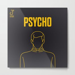 Psycho Movie - Poster Metal Print
