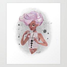 Space Queen Art Print