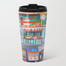 BP frontage Metal Travel Mug