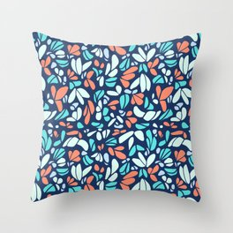 By the Sea, the Carol Collection Throw Pillow