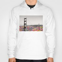 boyfriend Hoodies featuring It's in the Water by Bianca Green