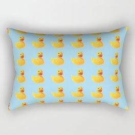 HOMEMADE RUBBER DUCK PATTERN Rectangular Pillow