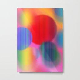 Rainbowed Metal Print