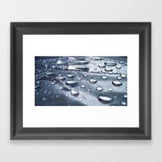 :: drops :: Framed Art Print