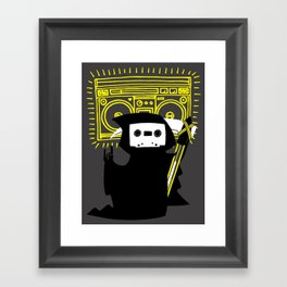 Death Mixtape Framed Art Print