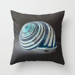 Glowing Snail Throw Pillow