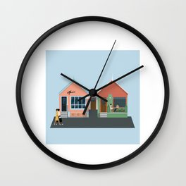Havana Bar & Restaurant, Wellington, NZ Wall Clock