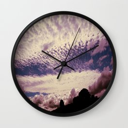 cloudy with a chance of meatballs Wall Clock