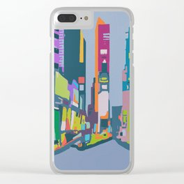 Times Square Clear iPhone Case