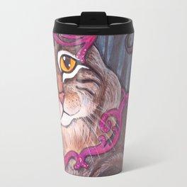 Forest Cat Travel Mug