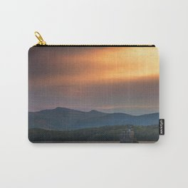 Hudson River Lighthouse at Sunset Carry-All Pouch