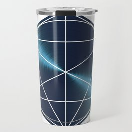 Minimalist Geometric Art Travel Mug
