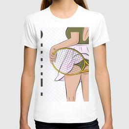 Sexy tennis T-shirt