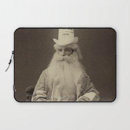 Dunce Cap Towel Salesmen, Circa 1920's black and white photograph Laptop Sleeve