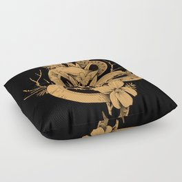 Sage Cleansing Rituals Floor Pillow