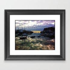 Sea of Clouds Framed Art Print