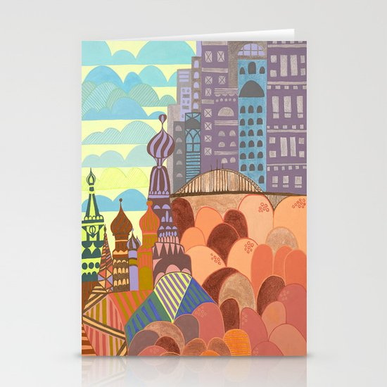 Novo Arkhangelsk Stationery Cards