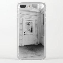 Back Door Clear iPhone Case