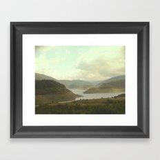 Alpine Ranges - Australia Framed Art Print